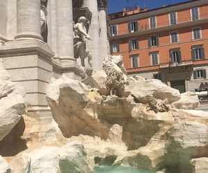 adventure, europe, and fountain image