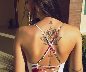 back, Tatts, and cool image