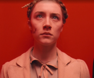 Saoirse Ronan and the grand budapest hotel image