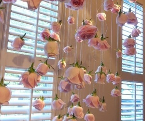 aesthetic, ceiling, and curtain image
