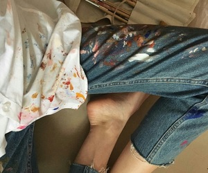 aesthetic, legs, and shirt image