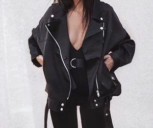 bag, black, and dress image