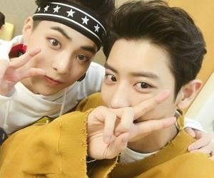 exo, chanyeol, and xiumin image