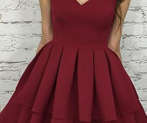 homecoming dresses, burgundy homecoming dress, and homecoming dress image