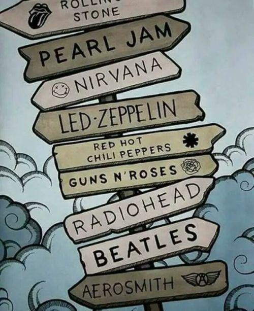 music, Guns N Roses, and pearl jam image