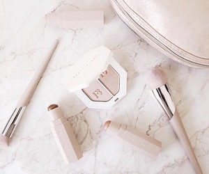 brush, celebrity, and makeup image