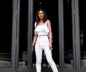 white and fashion image