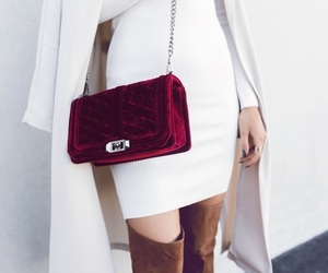 bag, girl, and kenza zouiten image