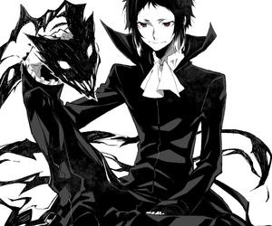 bungou stray dogs, anime, and akutagawa ryuunosuke image