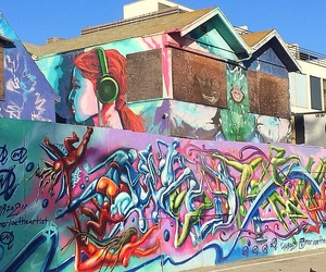 art, colors, and street art image