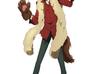 anime, osamu dazai, and wolfman image