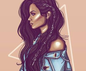 artist, hair style, and beauty image