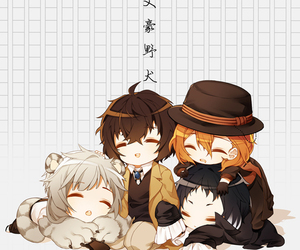 bungou stray dogs, anime, and chuuya nakahara image