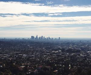 california, city, and downtown LA image