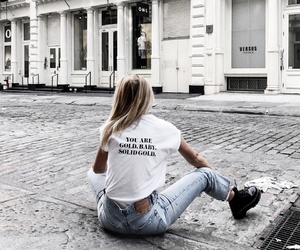 girl, style, and city image