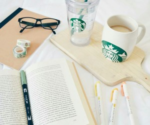 coffee, motivation, and starbucks image