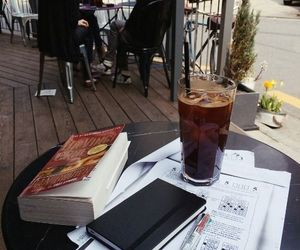 book, study, and cafe image
