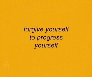 quotes, yellow, and forgive image