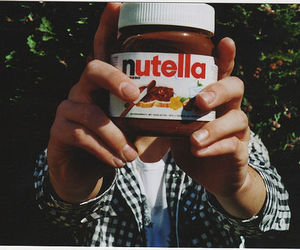 nutella, photography, and chocolate image