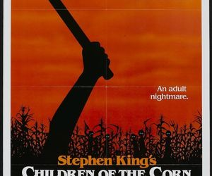 children of the corn, horror, and Stephen King image