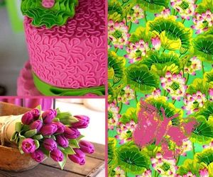 green, images, and pink image