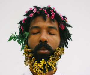 aesthetic, flowers, and human image