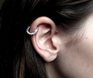 helix and piercing image