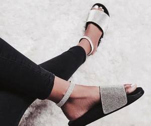 diamond, shoes, and slipper image