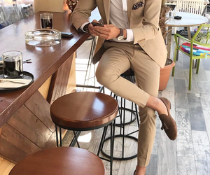 fashion, style, and suits image