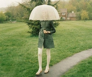 umbrella and girl image