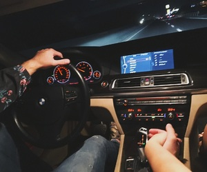 bmw, hands, and car image