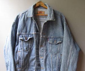 ebay, levi's, and coats & jackets image