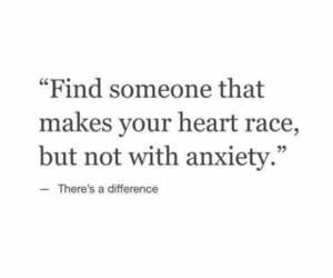 anxiety and love image