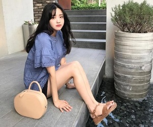asian, girl, and kfashion image