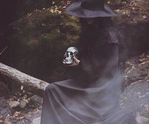 witch and autumn image