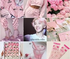 exo, pink, and baekhyun image
