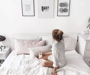home, bedroom, and girl image