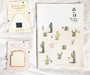 aesthetic, cactus, and doodles image