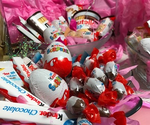 birthday, chocolate, and kinder image