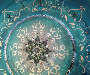 acrylic, art, and mandala image
