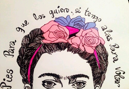 woman, art, and frida kahlo image