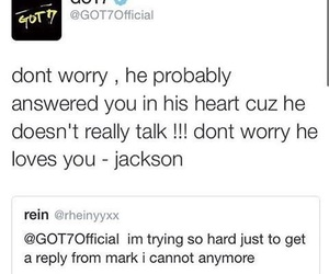 jackson, kpop, and mark image
