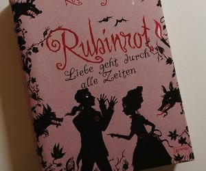 kerstin gier, rubinrot, and my bookshelf image