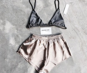 fashion, shorts, and bra image