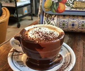 chocolate, coffee, and coffee time image