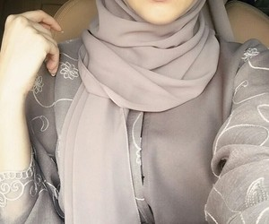 arab, hijab, and lips image