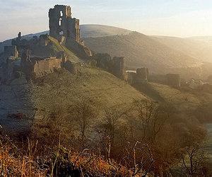 dorset, corfe castle, and wondrous places image