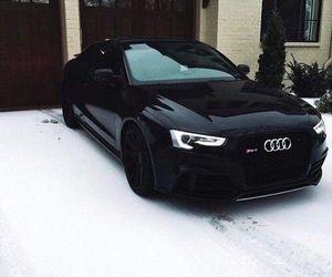 car, black, and audi image
