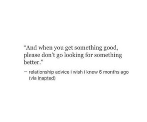 advice, quote, and love image