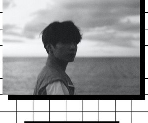 black and white, edit, and kpop image